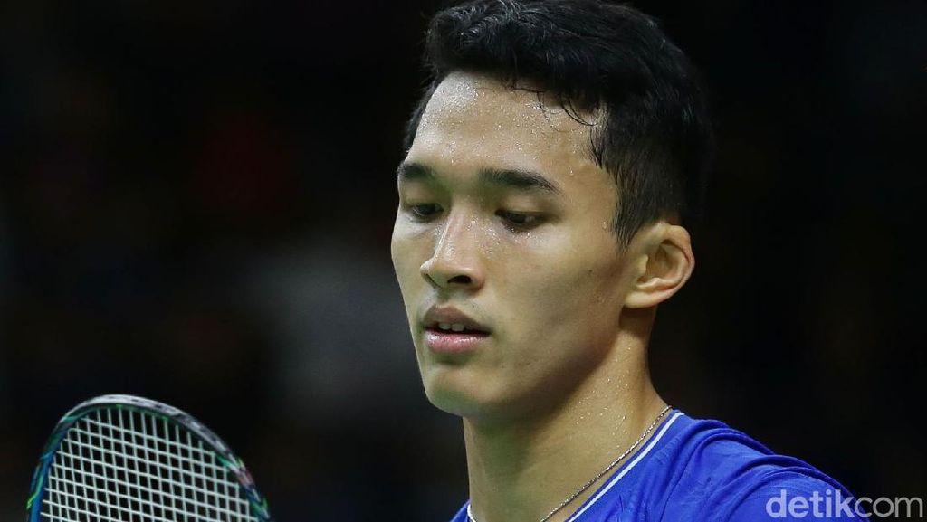 Jonatan Disingkirkan Antonsen di Perempatfinal Daihatsu Indonesia Masters