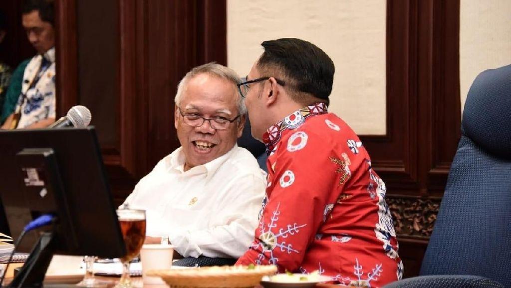 Menteri Basuki Janji Bangun Dua Waduk Baru di Kabupaten Bogor