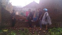 Angin Puting Beliung Terjang Garut, 13 Rumah Warga Rusak