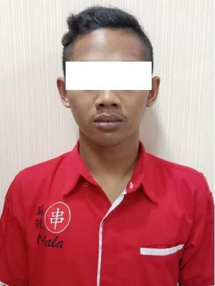 Pelaku yang dilaporkan mantan setelah memutusnya (Foto: Istimewa)