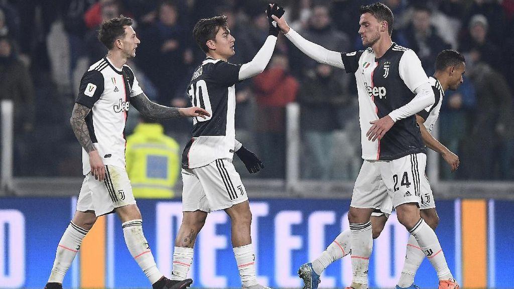 Video 4 Gol Juventus Gilas Udinese Tanpa Ronaldo