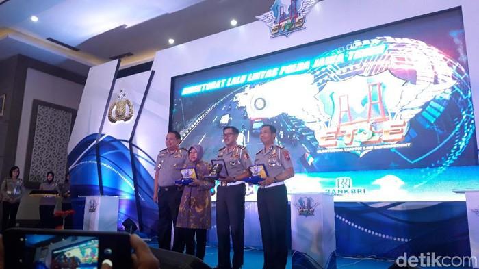 e-tilang di Surabaya resmi dilaunching (Foto: Hilda Meilisa Rinanda)