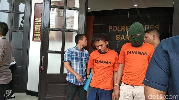 Foto: Para pelaku pembacokan brutal di Bandung (Dony Indra Ramadhan/detikcom)