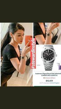 Jam tangan mewah yang dikenakan Siwi Sidi