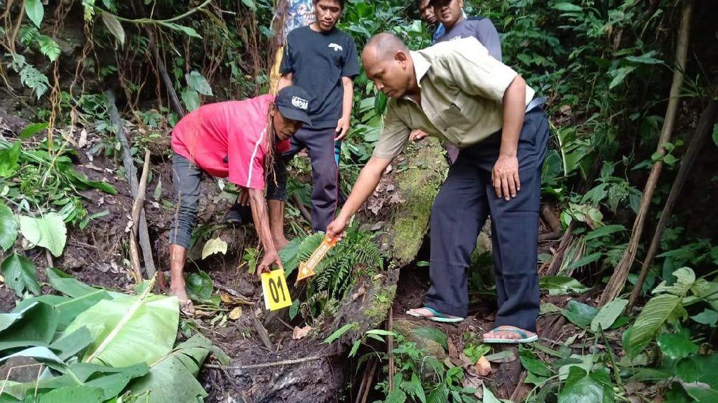 Hilang Sejak Tahun Baru, Jasad Nenek di Sigi Ditemukan Sudah Jadi Kerangka