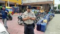 Belasan Kendaraan Penimbun BBM Diamankan, Puluhan Jeriken Disita