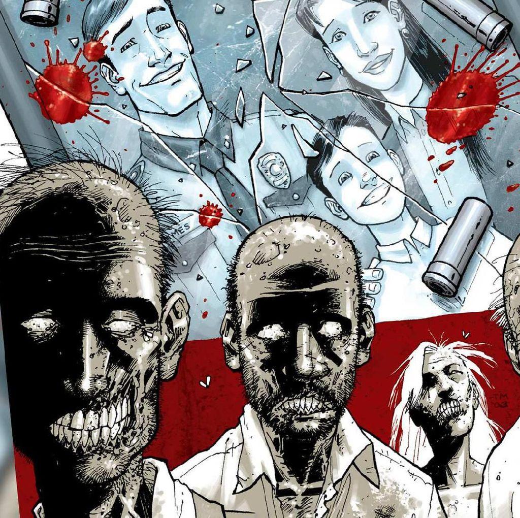 Novel Grafis The Walking Dead Terlaris Sepanjang Satu Dekade