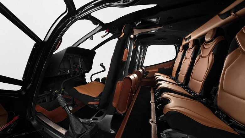 Desain kabin helikopter ACH130 Edisi Aston Martin (Airbus Corporate Helicopters)