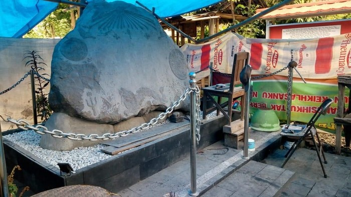 Keraton Agung Sejagat memiliki cabang di Klaten, Kamis (16/1/2020). (Foto: dok. Polda Jawa Tengah)