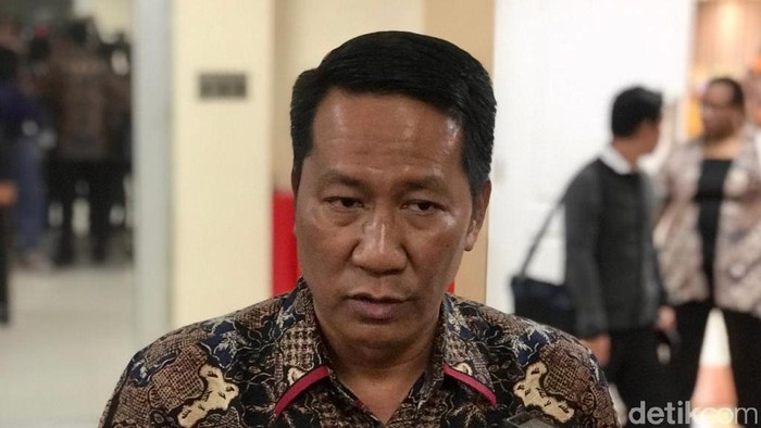 Ketua Baleg DPR Supratman Andi Atgas (Mochamad Zhacky/detikcom)
