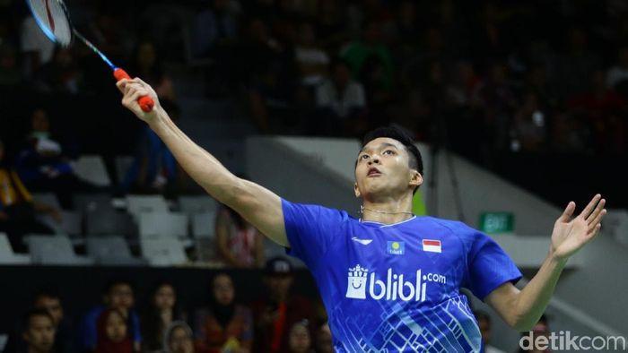 Jonatan Christie melaju ke perempat final Indonesia Masters 2020. Jojo melibas wakil Taiwan, Wang Tzu Wei.