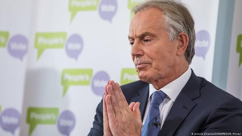 Jadi Dewan Pengarah Pembangunan Ibu Kota Baru, Tony Blair Punya Organisasi Bantu Negara Berkembang