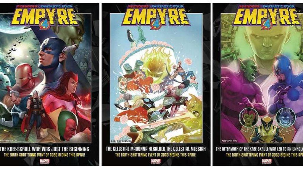 Siap Menyambut Proyek Marvel Terbaru Empyre?