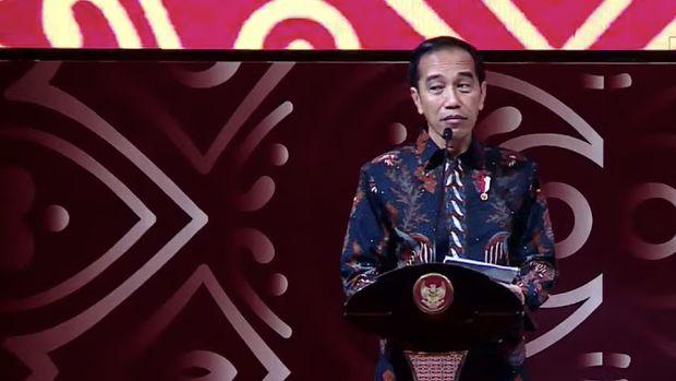 Di Depan Anies & Bankir, Jokowi Pamer Desain Ibu Kota Baru