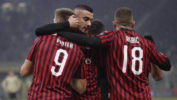 AC Milan berhasil menang telak atas SPAL.