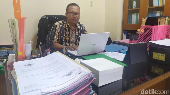 Foto: Kepala Bidang Perencanaan Ekonomi dan Infrastruktur, Bappeda Cianjur, Aris Munandar (Ismet Selamet/detikcom)