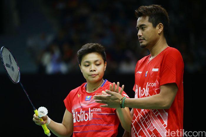 Duet Tontowi Ahmad/Apriyani Rahayu akan berlaga di Thailand Masters dan Barcelona Open. (Foto: Grandyos Zafna)
