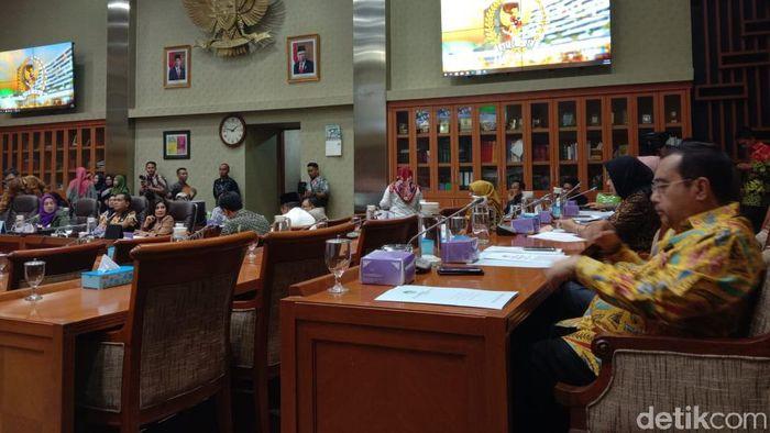 Foto: RDP Iuran BPJS Kesehatan di DPR (Anisa Indraini/detikcom)