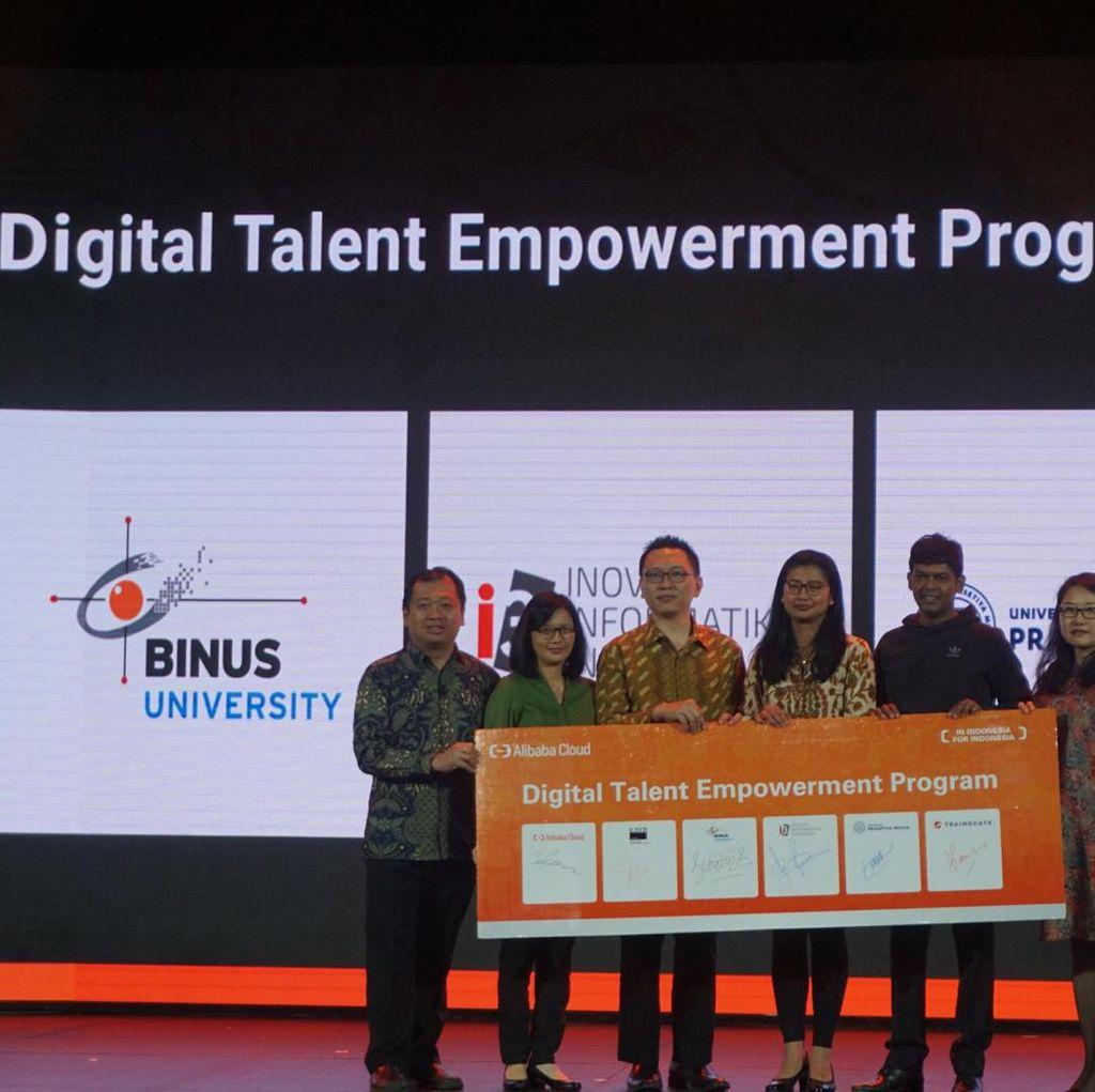 Kembangkan Bakat Digital, Alibaba Cloud Gandeng Binus & Prasetiya Mulya