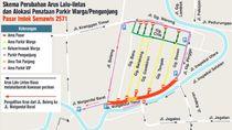 Ada Pasar Imlek Semawis, Ini Rekaya Lalu Lintas di Kota Semarang