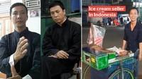 Viral! Penjual Es Krim di Singkawang Ini Mirip Aktor IP Man