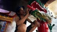 Klenteng Hok Lay Kiong Berbenah Menyambut Imlek