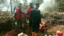 Hutan Suaka Margasatwa di Riau Terbakar, Heli Water Bombing Dikerahkan