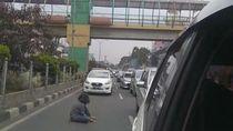 Wanita yang Duduk di Aspal Jl Margonda Pernah Coba Lompat dari JPO di 2019