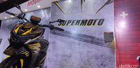 Sangar! Honda BeAT Street Jadi Supermoto