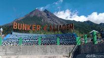 Gunung Merapi Waspada, Jarak Bahaya 3 Kilometer