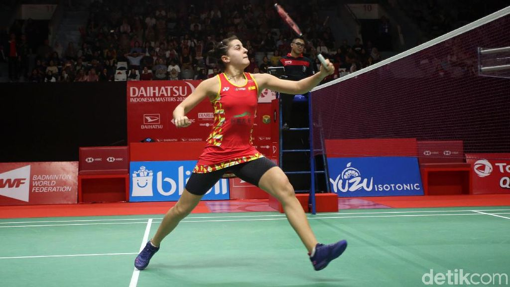 Carolina Marin Pijak Semifinal Indonesia Masters 2020