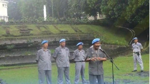Aktivitas Sunda Empire di Bandung.