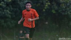 Sudah Latihan di Persija Jakarta, Evan Dimas Masih Belum Fit 100 Persen