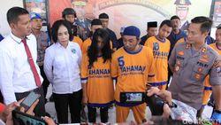 Pasutri Asal Surabaya Nekat Edarkan Sabu Demi Susu Anak
