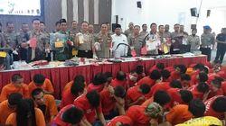 Curat Masih Dominasi Kejahatan di Surabaya di Awal Tahun