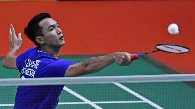 Jonatan Christie jadi andalan Indonesia di nomor tunggal putra.
