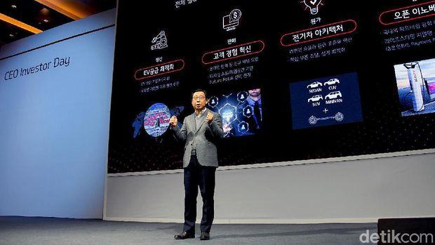 President and CEO Kia Motors Corporation Han-woo Park