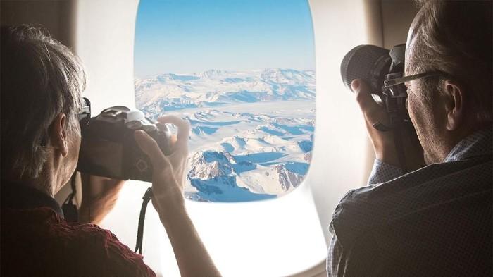 Paket wisata sehari ke Antartika.
