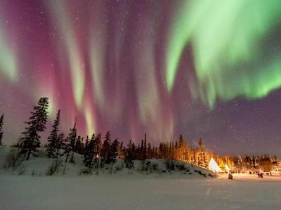 10 Tempat yang Cocok untuk Llhat Aurora dari Januari-April
