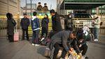 Satu Pekan Jelang Imlek, Warga China Mulai Mudik
