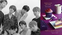 Kolaborasi dengan BTS, Starbucks Korea Sajikan Menu Cantik Serba Ungu