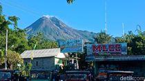 Jadi Trending Topic Twitter, Gunung Merapi Cantik Banget Hari Ini!
