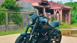 Wujud Yamaha Scorpio Bergaya Ducati Monster