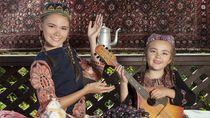 Si Cantik Uzbekistan yang Bebas Visa buat Paspor RI