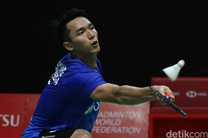 Langkah tunggal putra Indonesia, Jonatan Christie terhenti di perempat final Indonesia Masters 2020. Jojo kalah dari wakil Denmark, Anders Antonsen.