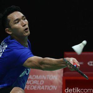 Hasil Toyota Thailand Open 2021: Jonatan Christie Kalah Dramatis
