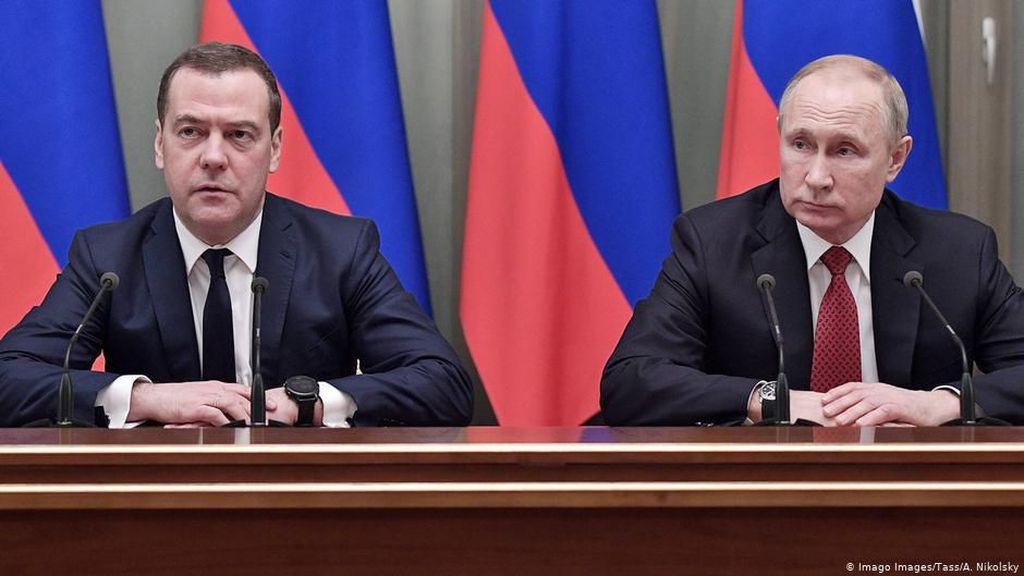 Tiba-tiba Tunjuk PM Baru, Gebrakan Putin Kagetkan Rusia dan Luar Negeri