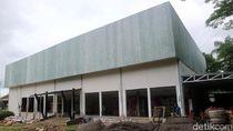 Melihat Pembangunan Gedung Bioskop Baru di Kota Sukabumi