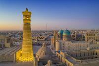 Si Cantik Uzbekistan, Bebas Visa untuk Paspor RI