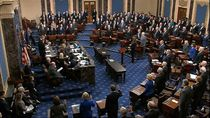 Proses Sidang Pemakzulan Trump Dimulai, Para Senator AS Disumpah